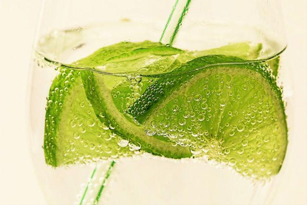 limes in soda