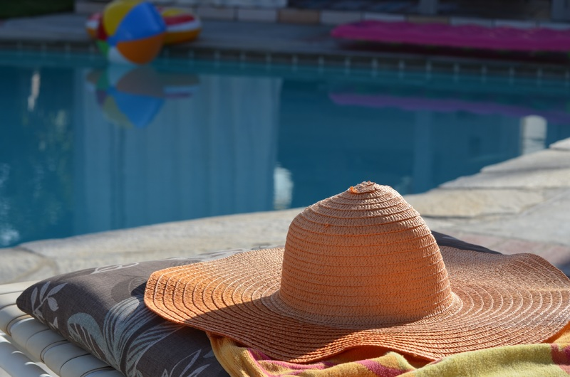 sun swimming pool color hat leisure sun hat 960082 pxhere.com