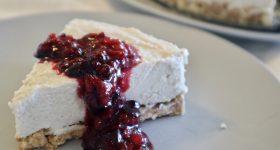 チーズなし・大豆なし・砂糖なし。ロースイーツ「レアチーズケーキ」の作り方。栄養素を丸ごと摂取!