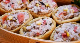 日本人は野菜からでなく雑穀から食物繊維を摂っていた!かつて貧しかった日本人を支えた「大麦」は、超優秀な食物繊維。主食がご馳走になる大麦おいなりさんの作り方