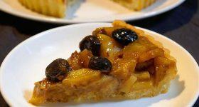 【シュガーフリー・グルテンフリー】パーティーにもおすすめ! ドライフルーツとポンセンクリームで作る、ワンランクアップのりんごタルトの作り方