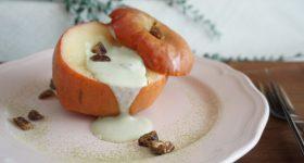 腸を整え便秘知らずのおやつ。丸ごと林檎で作る砂糖なし「りんごの蒸し煮」の作り方