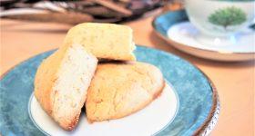 簡単オーガニックプロテインスコーンのレシピ|朝食おやつで気軽に美味しくプロテイン摂取!グルテンフリー!
