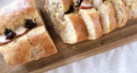 バターなし!簡単!焼きりんごのしっとりパウンドケーキの作り方