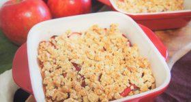 小麦粉なしで簡単!りんごを使ったアップルクランブルの作り方