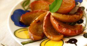 材料4つフライパンで簡単!5分でできるりんごの発酵キャラメリゼの作り方