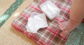 「純水99%」「パラベンフリー」「無香料」の赤ちゃんおしりふきは実は危険?!安心安全なコットンでおしりふきの作り方。
