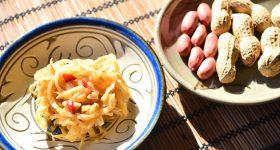 和の食材と伝統調味料で極上のエスニックを。自宅のキッチンで本格「切干大根ソムタム」の作り方。