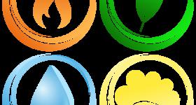 あなたはどのエレメント?全ての物質は4つで成り立つ「エレメント」という考え方を知れば自分の身体的特徴や健康に過ごすためのポイントがわかる!〜4つのエレメントの概要編〜